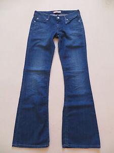 Levi-039-s-572-Bootcut-Jeans-Hose-W-29-L-32-light-Denim-mit-KULT-Waschung-Gr-36
