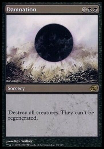 Damn it - Damnation MTG MAGIC PLC Planar Chaos Ita Ita Ita 3b721e