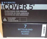 L'loréal Homme Cover 5' Gray Hair Cover Colour 7 - Medium Blonde 3 X 50 Ml