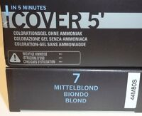 L'loréal Homme Cover 5' Gray Hair Cover Colour 7 - Medium Blonde 3 X 50 Ml