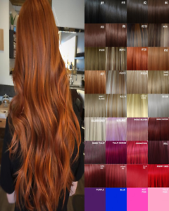 Hair-Extensions-Clip-in-Hair-Extension-real-Human-Feel-Ginger-Brown-Blonde-Red