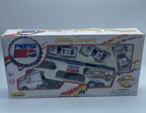 1996 Golden Wheel Pepsi Shooting Transporter Die Cast Metal Special Edition