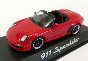 Minichamps-1-43-Scale-PD-043-11-023-Porsche-911-Speedster-Red