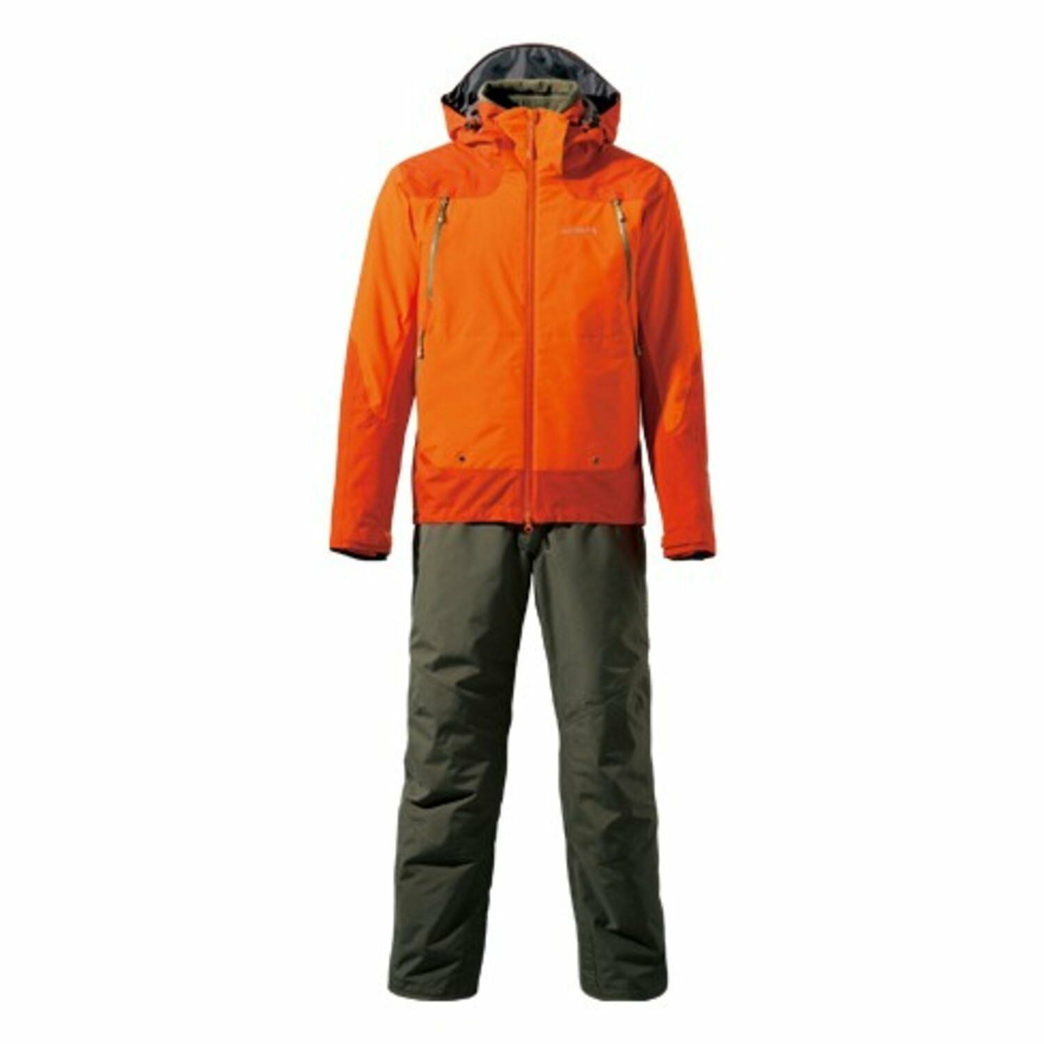 Shimano Japan GORE-TEX master warm suit RB-014M Warm cloth cloth cloth Orange Warm cloth cb05c6