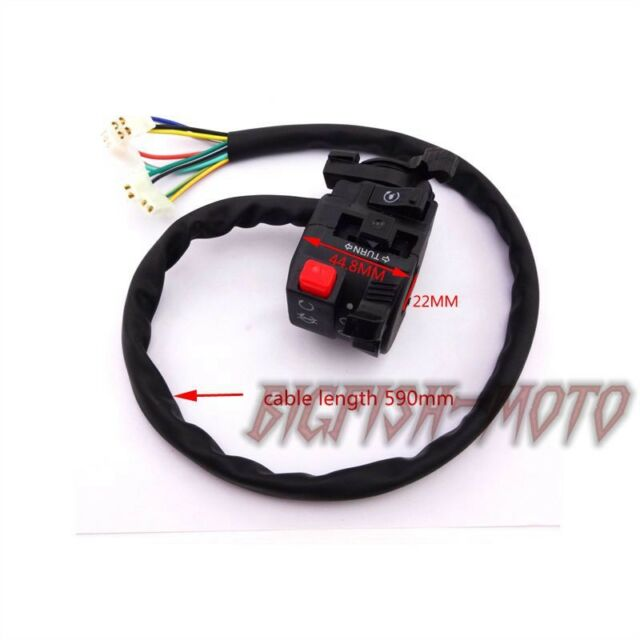 11 Wire Chinese Atv Handle Switch Control Choke Lever 50 110 125 150 200 250 Cc