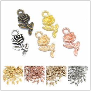 16pcs-Metal-Rose-Flower-Charms-Pendant-Findings-for-Jewelry-Making-Craft-DIY-Hot