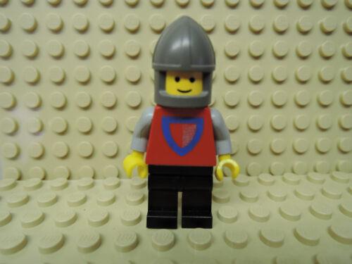 LEGO Figur Castle Cassic Ritter bedr Schild cas002  Set 15-1  gebr.