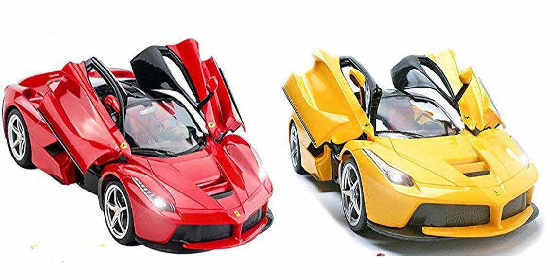 Licensed 1 14 Ferrari LaFerrari Radio Controlled RC Electric Car Opening Doors