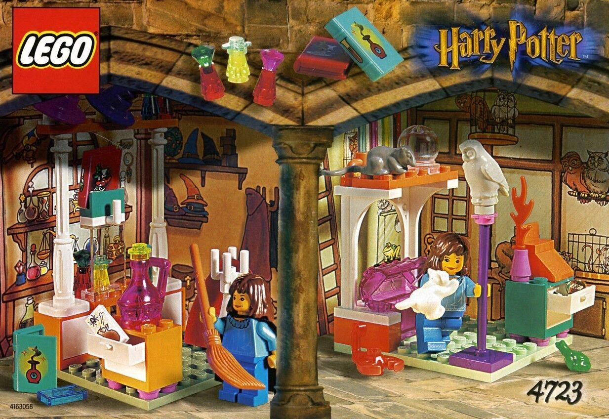 Lego Harry Potter 4723 Diagon Alley magasins Neuf Scellé Difficile à trouver 2001' FEMALE GIRL BOY