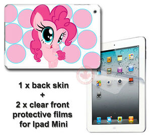 My-Little-Pony-Pinkie-Pie-SKIN-STICKER-COVER-and-2-protected-films-for-iPad-Mini