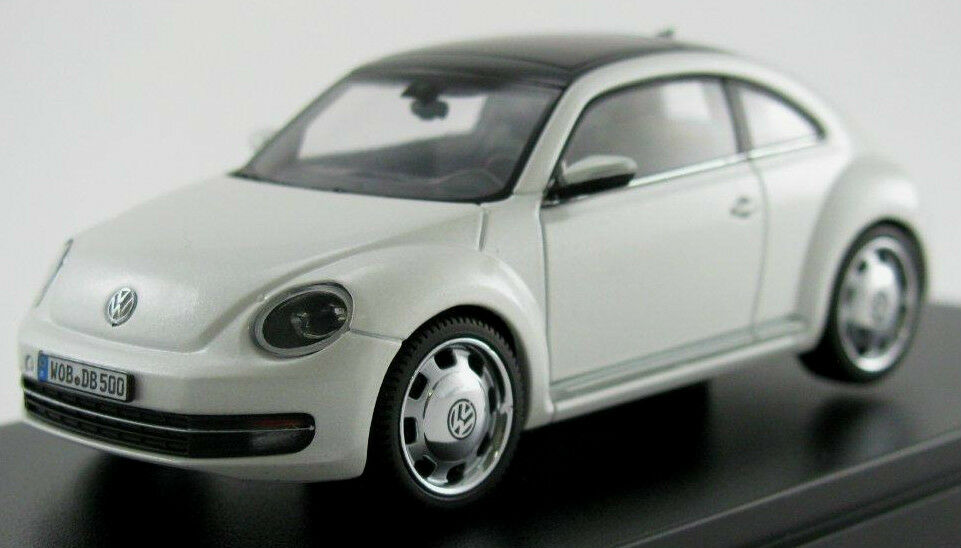 Wonderful PR-modelcar VOLKSWAGEN VW  THE BEETLE  2012 - onyx white - 1 43