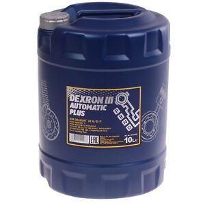 MANNOL-Dexron-III-ATF-Getriebeoel-10-Liter-Ol-Automatik-Servooel-Automatic-Plus