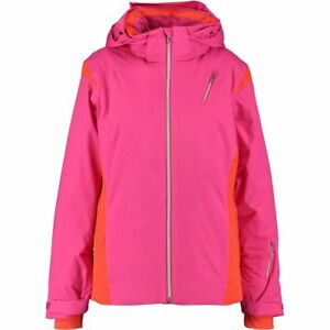 SPYDER Prevail Women's Ladies Ski Snowboard Jacket Pink and Red - UK 6 rrp £230