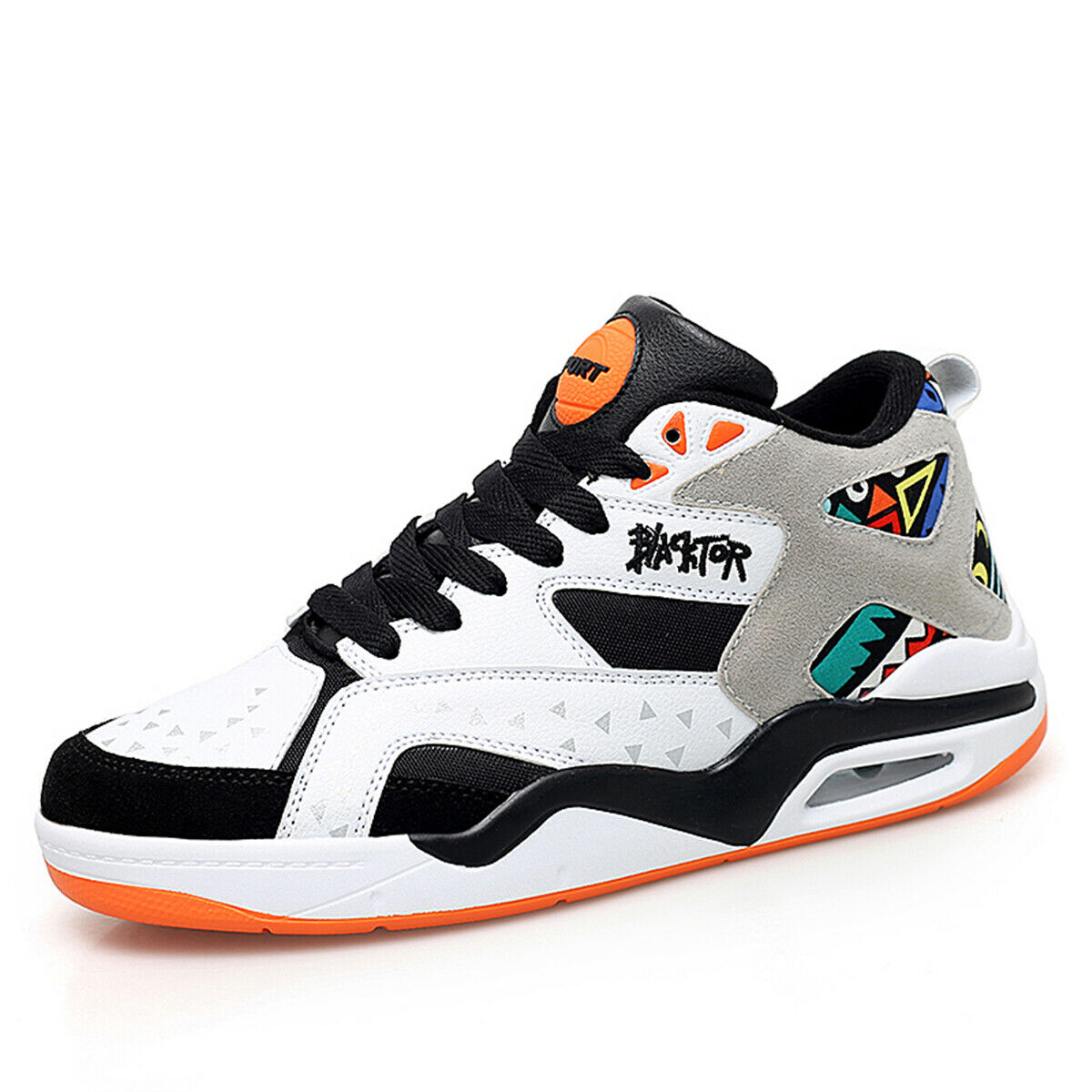 Fashion Mens Sports Casual shoes Basketball Athletic Sneakers Lace Up Platform
