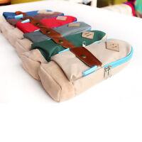 Mini Nose Schoolbag Pen Case Student's Canvas Pencil Case Pen Bag Pouch Cute Hot