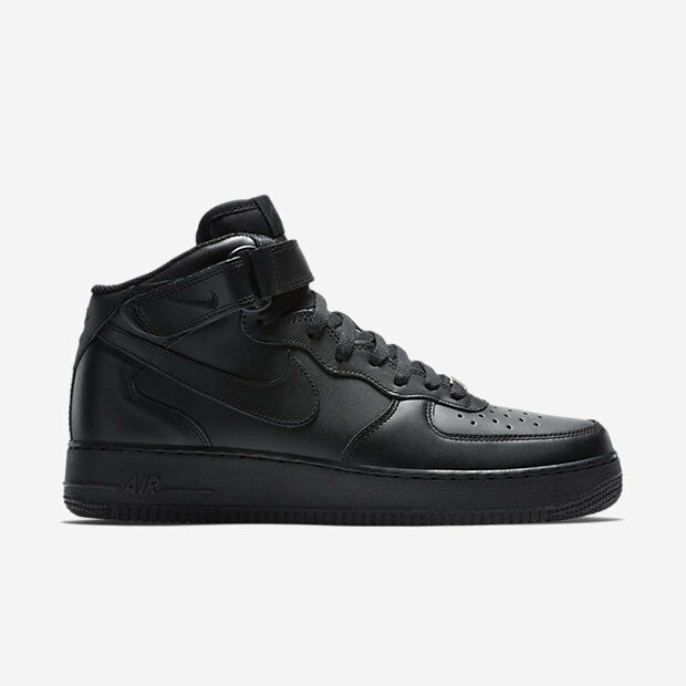 315123-001 Men's Nike Air Force 1 Mid 07 shoes   BLACK BLACK   ORIGINAL