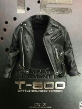 ZYTOYS T-800 Black Leather Clothes Set 1//6 Male Coat/&Pants Costume Accessory