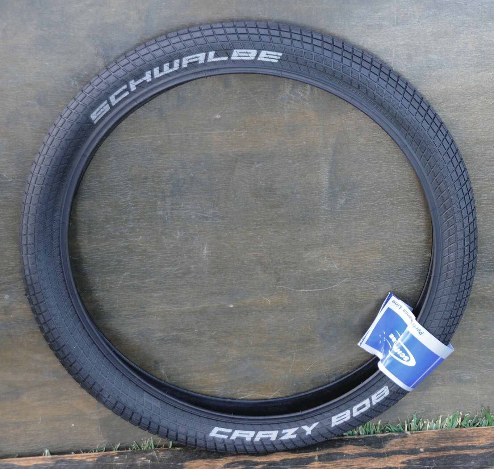 24 x2.35 Schwalbe CraZyBoB BMX Cruiser Bicycle Tire Vintage Schwinn Chopper Bike