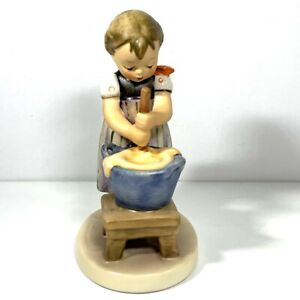 Goebel Hummel Baking Day No 330 TMK 6 West Germany Initialed Dated 1985