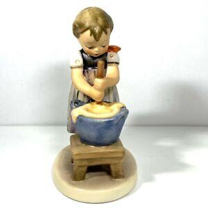 Goebel Hummel Baking Day No 330 TMK 6 West Germany Initialed Dated 1985