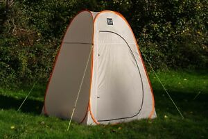 buy online 2a6c4 9e09d Details about LARGE TOILET TENT CAMPING STORAGE TENT QUICK PITCH POP UP -  OLPRO (ORANGE/GREY)