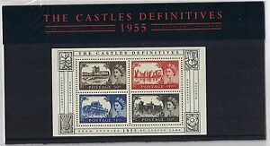 GB-Presentation-Pack-69-2005-Castle-Definitives-Miniature-Sheet