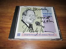 Jeepers Creepers! It's Johnny Mercer by Marty Henne (CD, Oct-2003) Signed Auto