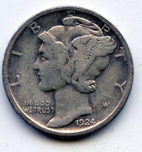 1924-d Mercury dime  (SEE PROMO)