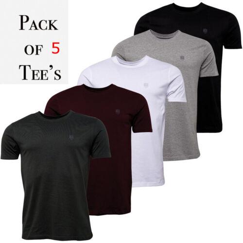 883 Police Mens Designer T-Shirts short sleeve 100/% cotton crew neck t-shirt
