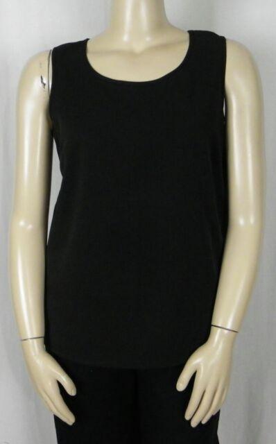 Size 14 Black Sleeveless Cami Top *Wardrobe Essential*