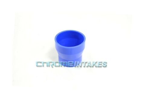 """BLUE 2.5/""""-3/"""" AIR INTAKE//PIPING RUBBER REDUCER COUPLER FOR HONDA//ACURA"""