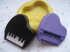 Piano 25mm music Flexible silicone mold for chocolate fondant clay & more
