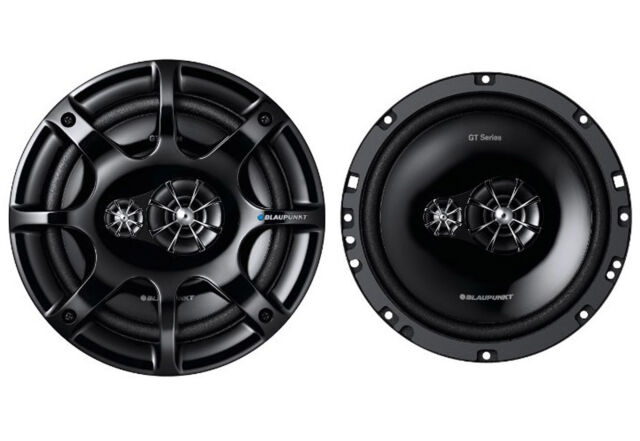 "Blaupunkt GTx 663 DE in car speakers 6.5"" 165mm 16.5cm 3way coaxial 220W Max"