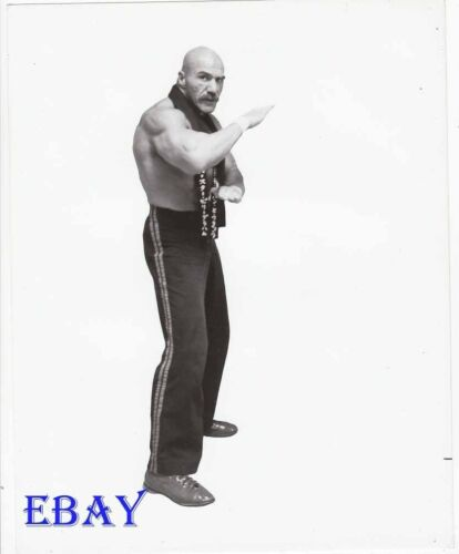Superstar Billy Graham barechested RARE Photo