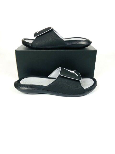 BRAND NEW Jordan Hydro 6 Men/'s Slide Sandals 881473 011 Black//Grey ALL SIZES