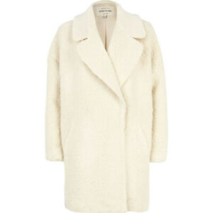the sale of shoes discount the sale of shoes RIVER ISLAND CREAM BOUCLE' OVERSIZED COAT SIZE 18 BNWT MRP £90 | eBay
