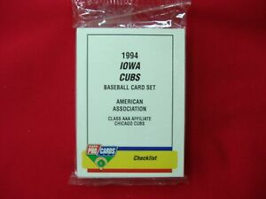 1994-IOWA-CUBS-MINOR-LEAGUE-TEAM-SET-FLEER-PROCARDS-FACTORY-SEALED-VERY-NICE
