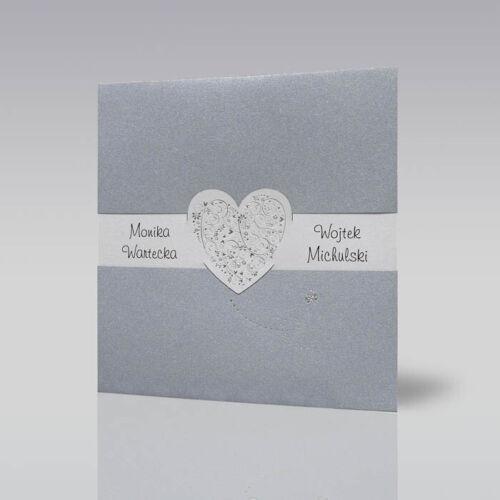 Hochzeitseinladungskarte Einladungskarte für Hochzeit mh14.027 mit Umschlag