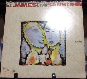 BOB-JAMES-amp-DAVID-SANBORN-Double-Vision-Album-Released-1986-Vinyl-Record-Collec