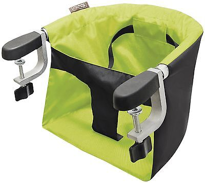 Mountain Buggy Evo Pod Clip-On Portable High Chair In Lime Brand With Carry Bag!