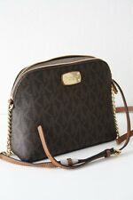 Michael KORS Borsa/Borsa a tracolla Cindy LG Dome Crossbody BROWN/MARRONE NUOVO