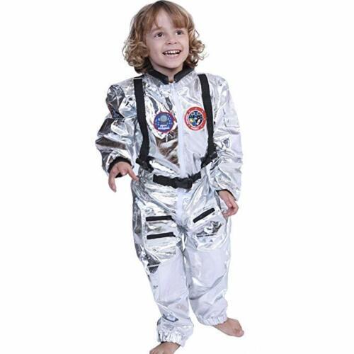 Wandering Earth Adult KID spaceman Costume Silver Astronaut Flight Suits Fancy