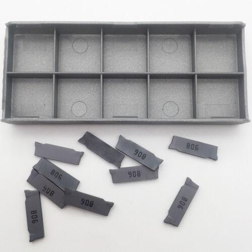 10pcs DGN 2002J IC908 Grooving cutting Insert Carbide Inserts 2mm Carbide bits