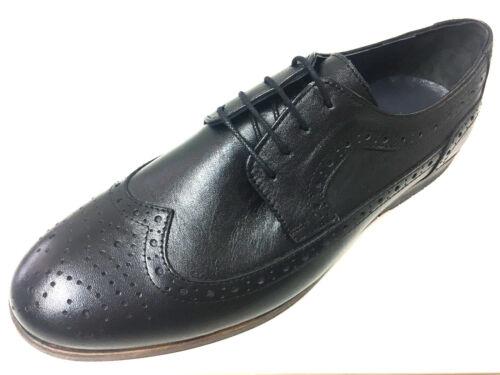 Mokassin Budapester Herrenschuhe Black Schnürer Mocassin Schwarz Leder Neue Mode IHnBWwAqIa