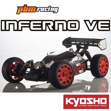 Kyosho Inferno VE tecnocolgía 1/8 RC Electric 4wd 2.4Ghz RTR Buggy 34101T2