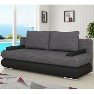 Sofa Bed Milo With Storage Container Sleep Function Bonell