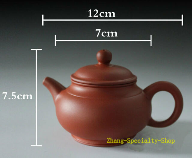 Supreme Rare YiXing ZiSha Pottery Red Purple Clay Teapot Tea Pot 120ml