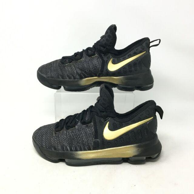 Nike Zoom KD 9 Size 6 Youth 6y GS Black
