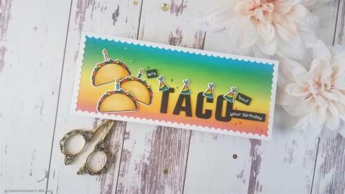 Stitched Scallops Slimline Metal Dies Embossing Die Cut Stencils DIY Card Crafts