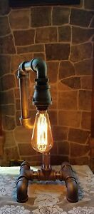 Retro-Industrial-Vintage-Steampunk-style-Lamp-with-edison-bulb